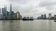 China Shanghai Bund Time lapse 4K 25 frames