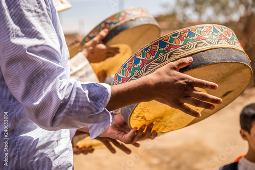 Berber Wedding In Merzouga Desert - 240653084