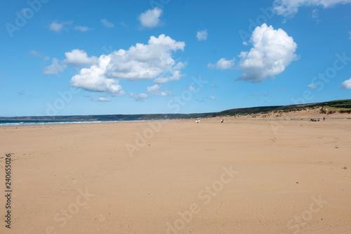 Fotografie, Obraz  Seascape near Biville in Normady