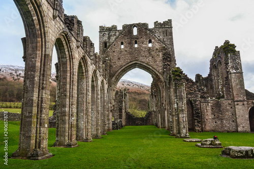 Photo Landmarks of Wales travel concept