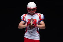 American Football Player Weari...