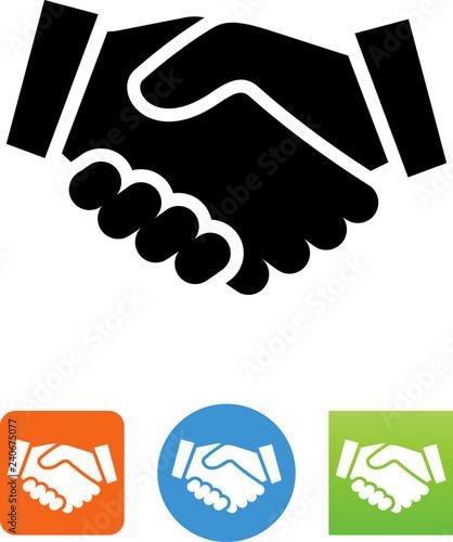 Photo Agreement Icon - Illustration