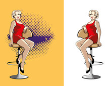 Girl On A Chair.