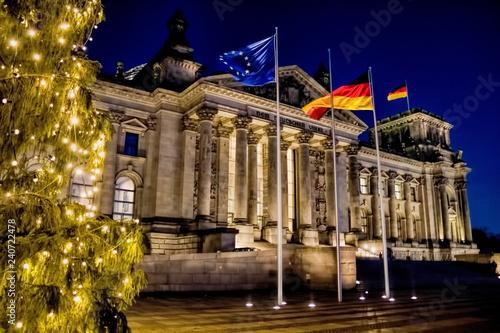 Fototapeta premium Berlin, Boże Narodzenie