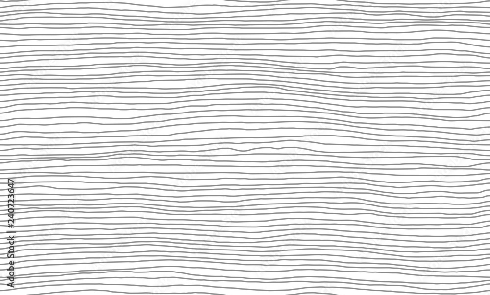 Fototapety, obrazy: Vector Illustration of the seamless pattern of gray and white lines abstract background. EPS10.