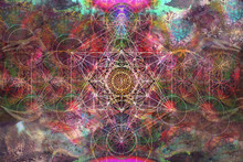 Abstract Spiritual Background ...