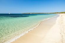 Beautiful Migjorn Beach, Forme...
