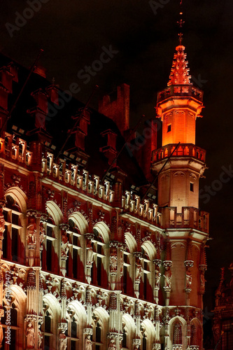 Altstadtszene am Grande Place Brüssel
