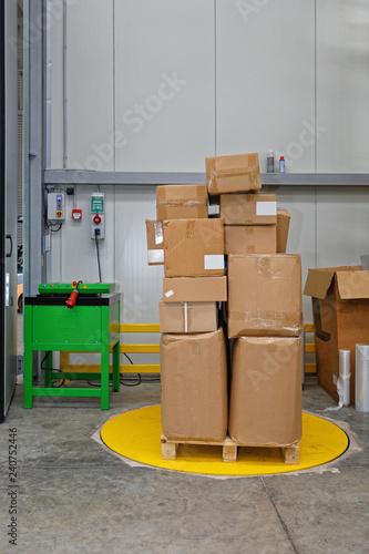 Box Wrapping Machine Canvas-taulu
