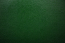 Green Textured Leather Background. Abstract Leather Texture.
