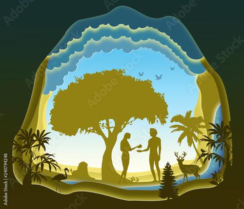 Photo Adam and Eve