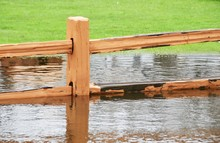 Fence In Flood