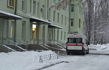 Winter In The City. Ambulance ...
