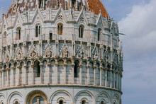 Close-up Of The Pisa Baptistry...
