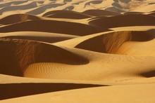 Light And Shadow On Beautiful Dunes. Wahiba Sands Desert (Sharqiyah Sands). Oman