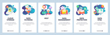 Web Site Onboarding Screens. C...