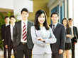portrait of team of asian business people