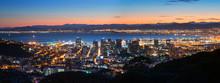 Night Cape Town. Panoramic View