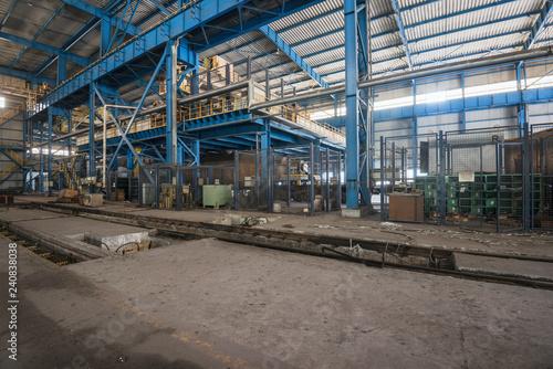 Papiers peints Les vieux bâtiments abandonnés abandoned factory house building