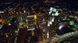 North Carolina Raleigh Aerial v6 Birdseye cityscape to vertical detail over City Plaza 10/17