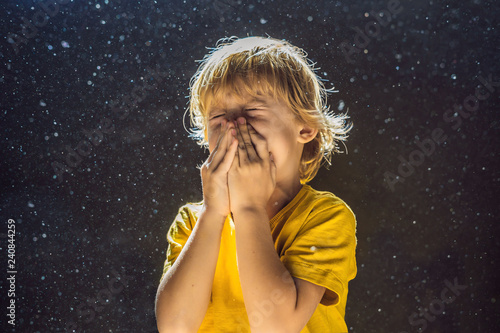 Photo Allergy to dust