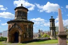 The Necropolis Is A Victorian Graveyard In Glasgow, Scotland