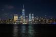 One World Trade Center bei Nacht