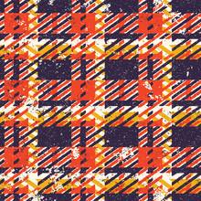 Grunge Tartan Plaid Abstract V...