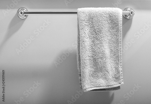 White towel on bar Tapéta, Fotótapéta
