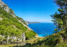 Panorama Vom Traumstrand Playa...