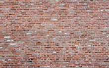 Brick Wall With Different Bricks