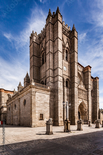 The Cathedral of Ávila, Castilla Leon. Spain.