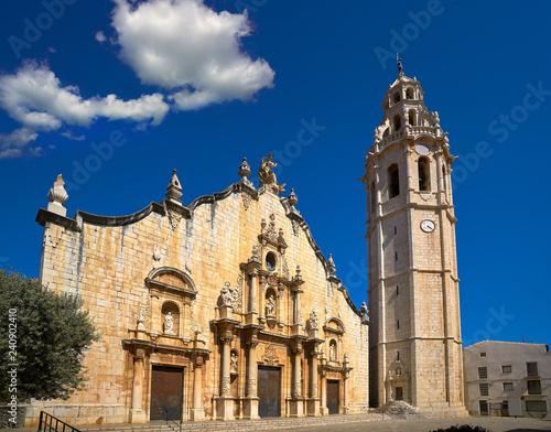 Photo Alcala de Chivert Xivert church In Castellon