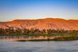Nil im Abendrot
