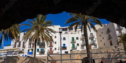 In de dag Peniscola old village in Castellon of Spain