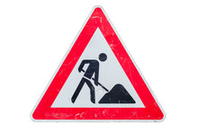 Old Sign Road Work
