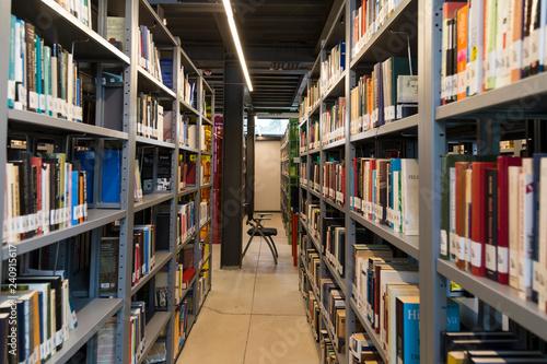 Fotografie, Obraz  library concept for university or school