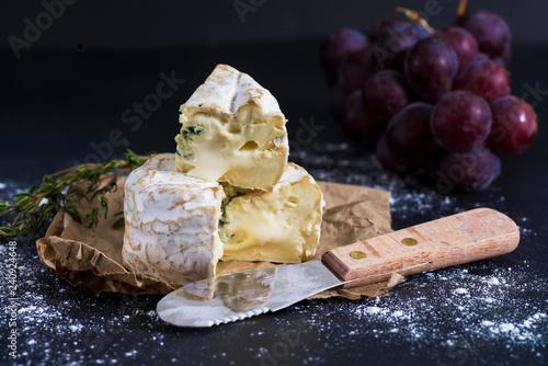 Cheese closeup