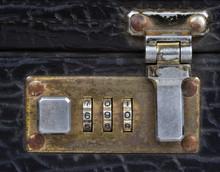 Old Briefcase Lock.