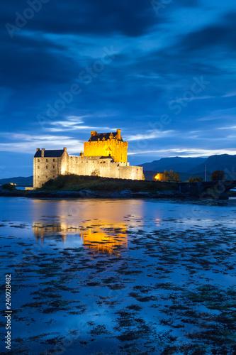 Foto op Plexiglas Kasteel Eilean Donan Castle, Scotland, United Kingdom