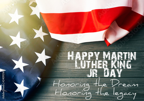 Martin Luther King Day background Wallpaper Mural
