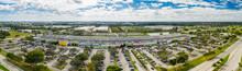 Aerial Panorama Festival Marke...