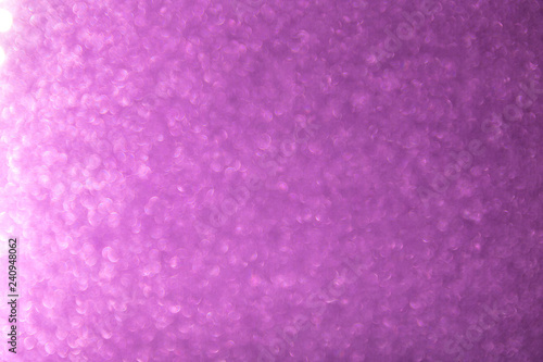 Fototapety, obrazy: Gradient pink bokeh texture background. Abstract sweet valentine pastel wallpaper.