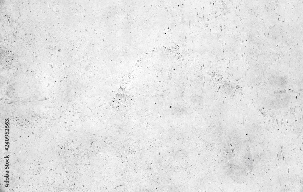 Fototapeta Empty white concrete wall texture