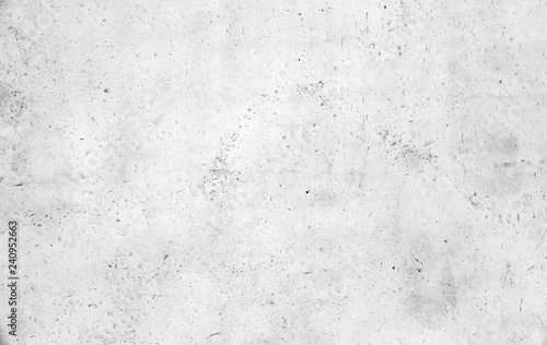 Poster Wand Empty white concrete wall texture