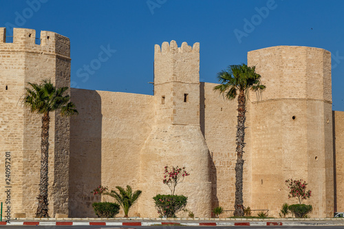 Vászonkép  Medieval Kasbah of Monastir city, Tunisia