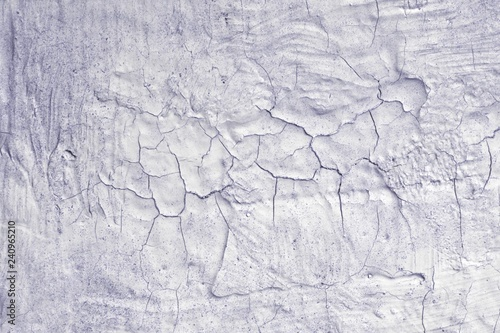 Fotografia, Obraz  blue creative dirty broken painting texture - cute abstract photo background