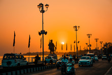 Sunset In Bhopal
