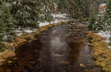 Roklansky Creek Near Modrava V...