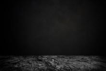 Rock Floor Table With Dark Background